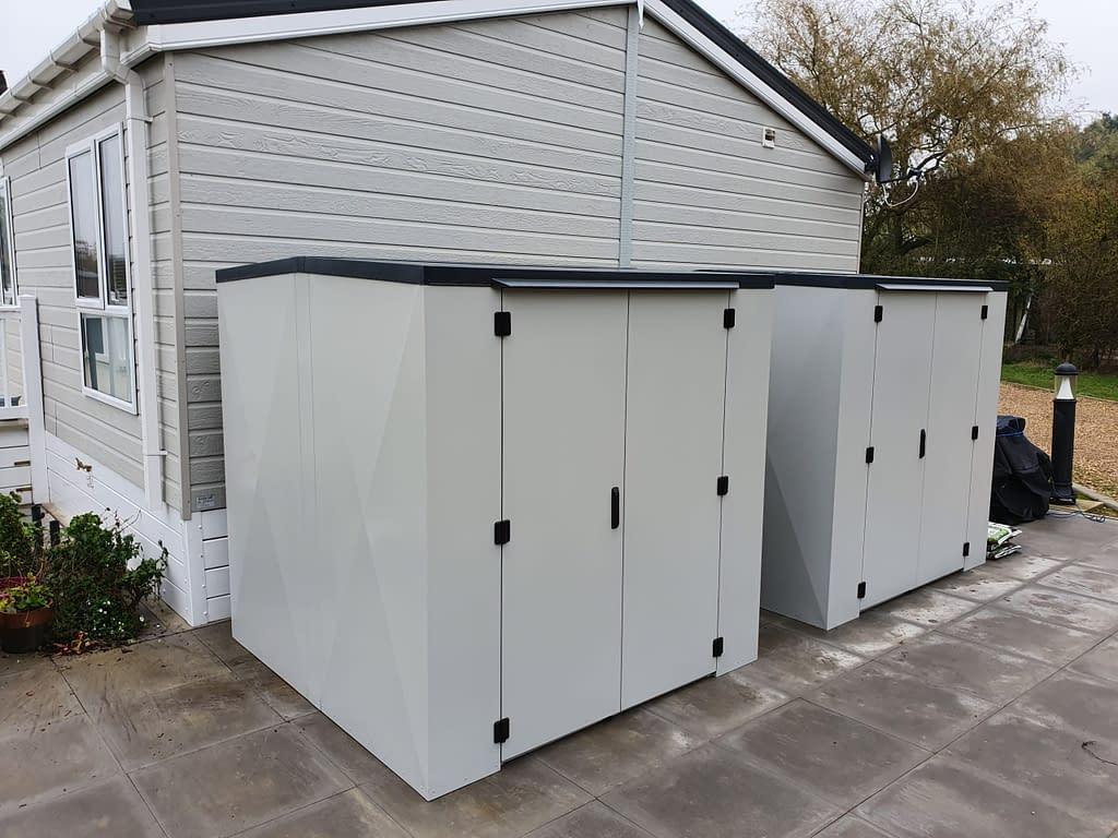 6ft x 6ft x 6ft Caravan Storage box