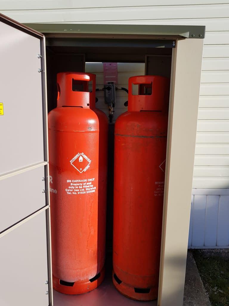 Gas Bottle Storage Box